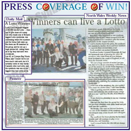 national lottery syndicate